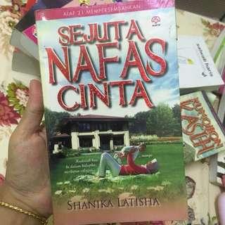 Novel Sejuta Nafas Cinta by Shanika Latisha