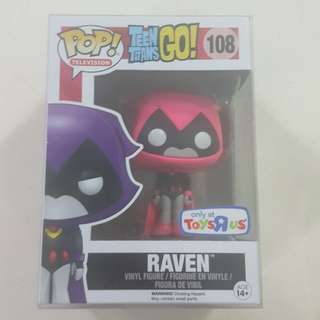 Legit Brand New With Box Funko Pop Television Teen Titans Go Raven Pink Toys R Us Exclusive