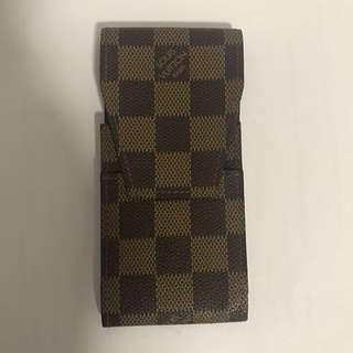 Louis Vuitton Damier Canvas Cell Phone Case