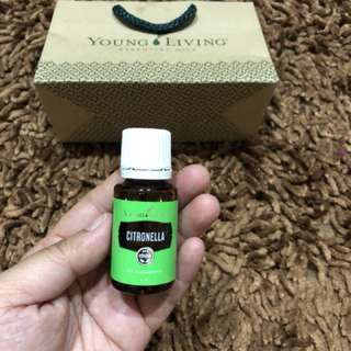 Citronella essential oil by young living