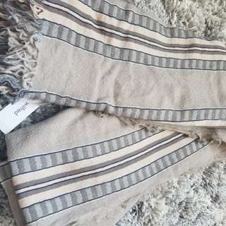 New Wilfred Mixed Stripes Blanket Scarf