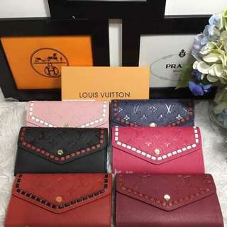 LV Wallets With box, dustbag and card