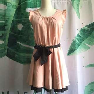 二手|粉色氣質洋裝#旺旺一路發