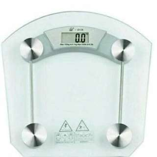 Digital LCD Electric Tempered Glass Bathroom weighing scale 8mm