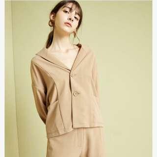🚚 Meierq沁涼感時髦西裝套裝
