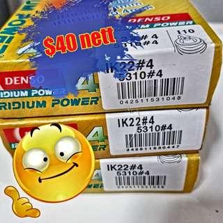 Denso Iridium power IK22 ($40 NETT)