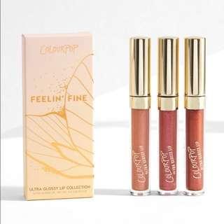 Colourpop Feelin' Fine Ultra Glossy Lip Collection