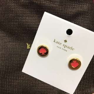 Kate spade earrings耳環 (連塵袋)