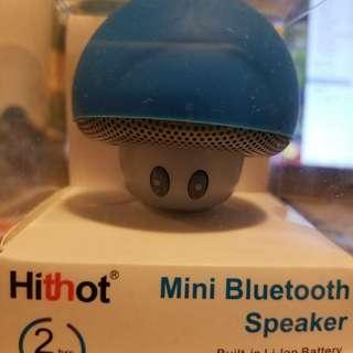 蘑菇型藍牙揚聲器(藍色)