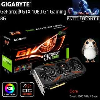 Gigabyte GTX 1080 G1 Gaming 8G GeForce®...