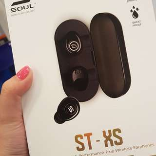 SOUL ST XS true wireless bluetooth earbuds