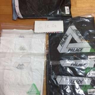 Palace 2018 短T joggers 棉褲