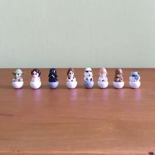 Star Wars Rollinz (8 Figurines in a Set)