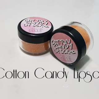 Sugarbelle Cotton Candy Lipscrub