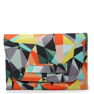 ACTS - MOZAIC YELLOW CLUTCH