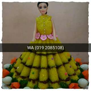 Pulut Kuning design BARBIE/PRINCESS