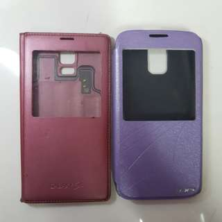 [BUNDLE] AUTHENTIC Samsung Galaxy S5 Pink S-View with free Flip cover