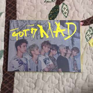 GOT7 MAD ALBUM (no pc)