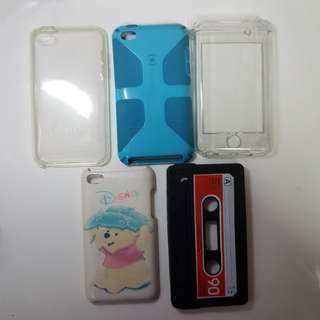 [BUNDLE] Ipod Touch 4 Case Itouch