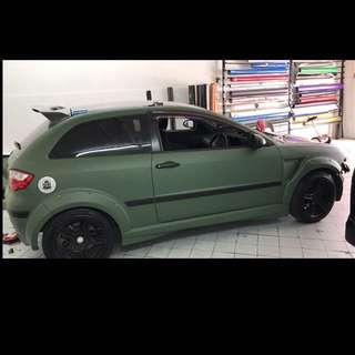 Matte Army Green