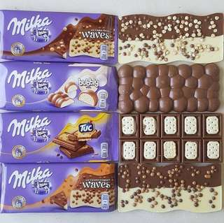 Milka Chocolates 300g & 100g • Love month Promo