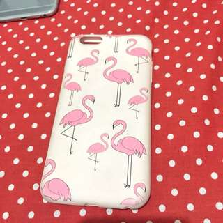 Softcase Iphone Flamingo