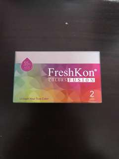 FreshKon Monthly Lens 0 degree (Brown)