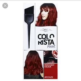 BN Ronze COLORISTA Hair Dye