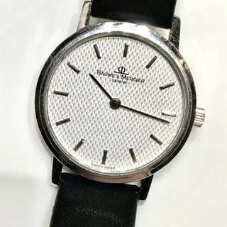 Baume & Mercier (18K White Gold) Lady Watch (including original box & with related documents)