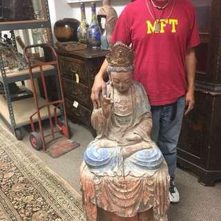 Polychrome Buddha