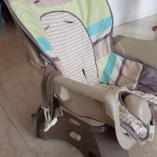 Excellent Condition Portable High Chair cum Booster Chair