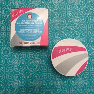 HELLO FAB 3 IN 1 COLOR CORRECTING CUSHION AUTHENTIC