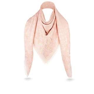 已斷市!限量Louis Vuitton粉紅色配金花刺繡
