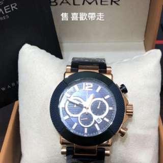 🚚 BALMER三眼機械錶