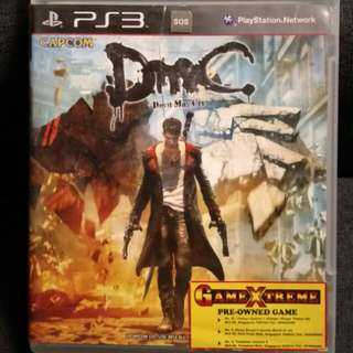 PS3 DMC - Devil May Cry 5