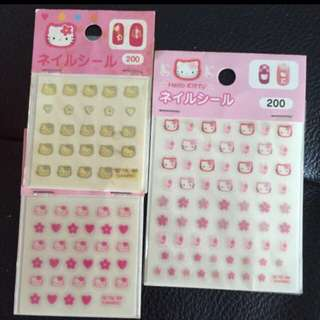 Sanrio nail stickers