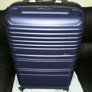 "EMINENT  28"" BLUE ,LIGHT WT Luggage (  8 WHEELS FOR HEAVY DUTY )CNY offer $149 only"