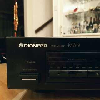 PIONEER mic mixer MA 9 karaoke