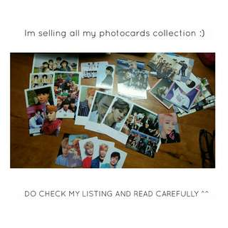 Bts Official Photocards for sale :)