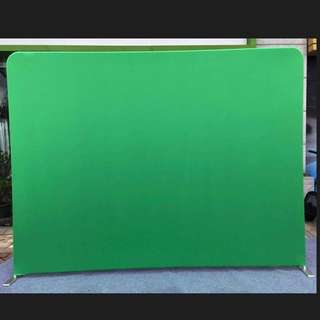 {RENT} Green Screen Tension Fabric Backdrop