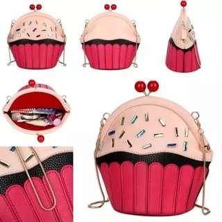 Tas fashion handbag import from batam 1347 pink