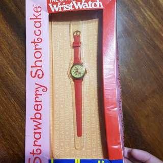 Bradley Vintage watch,Strawberry Shortcake