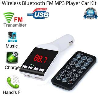 Bluetooth Wireless FM Transmitter