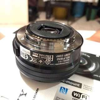 Sony 16-50mm oss kitlens