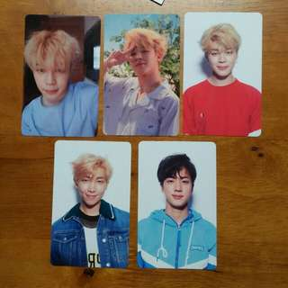 BTS Love Yourself Jimin Jin Namjoon pc