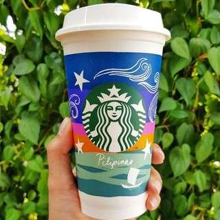Starbucks Reusable plastic cup