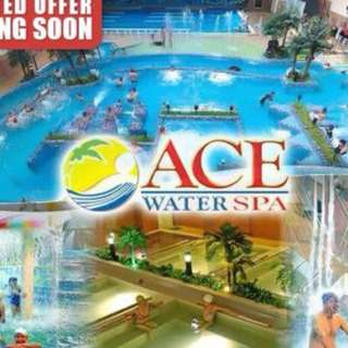 3 ACE WATER SPA VOUCHERS FOR 1K ONLY [PASIG BRANCH]