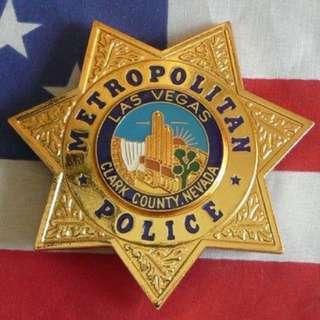 Las Vegas PD Police Badge
