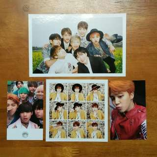 BTS HYYH Jimin and Group pc