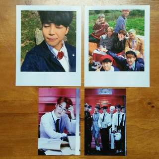 BTS Young Forever Jimin and Group pc
